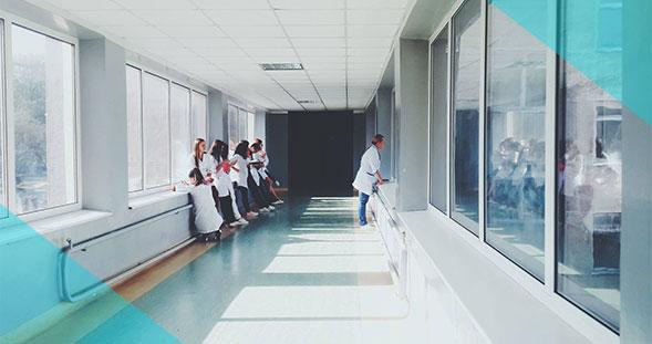 فیلتر هواساز بیمارستان
